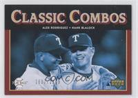 Classic Combos - Alex Rodriguez, Hank Blalock #/1,999