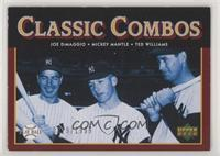 Classic Combos - Joe DiMaggio, Mickey Mantle, Ted Williams [EX to NM]…