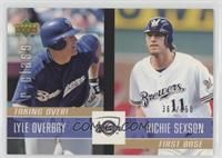 Lyle Overbay, Richie Sexson #/650