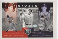 Derek Jeter, Babe Ruth, Ted Williams, Nomar Garciaparra, Mickey Mantle [EX …