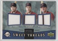 Morgan Ensberg, Jeff Bagwell, Jeff Kent /99