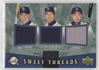 Bret Boone, Ichiro, Edgar Martinez /99