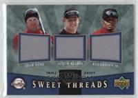Adam Dunn, Austin Kearns, Ken Griffey Jr. /99
