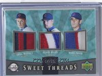 Greg Maddux, Kerry Wood, Mark Prior /25