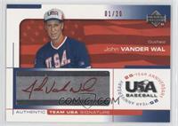 John Vander Wal /20