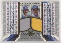 Andre Dawson, Billy Williams #/25