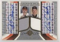 Rafael Palmeiro, Will Clark [Noted] #/25