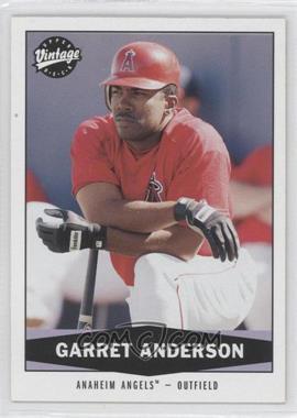 2004 Upper Deck Vintage - [Base] #32 - Garret Anderson