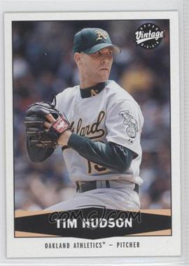 2004 Upper Deck Vintage - [Base] #62 - Tim Hudson