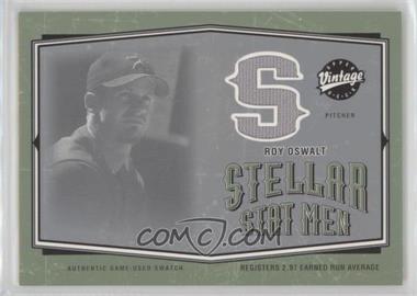2004 Upper Deck Vintage - Stellar Stat Men #SSM-37 - Roy Oswalt