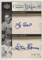 Yogi Berra, Don Larsen /100