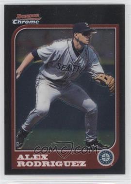 2005 Bowman Chrome - Alex Rodriguez Throwbacks #97-AR - Alex Rodriguez