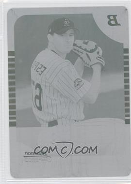 2005 Bowman Chrome - [Base] - Printing Plate Cyan #269 - Mike Esposito /1