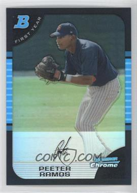 2005 Bowman Chrome - [Base] - Refractor #271 - Peeter Ramos