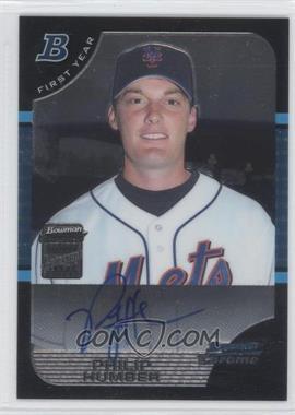 2005 Bowman Chrome - [Base] #337 - First Year Autograph - Philip Humber