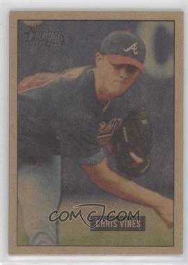 2005 Bowman Heritage - [Base] - Mahogany #279 - Chris Vines