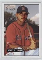 Jacoby Ellsbury (Bat on Shoulder)