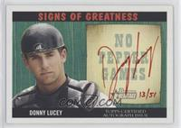 Donald Lucy #/51