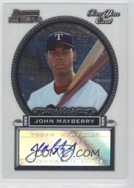 2005 Bowman Sterling - [Base] #BS-JM - John Mayberry