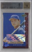 Billy Butler [BGS 9 MINT] #/199