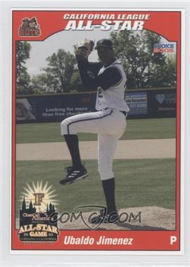 2005 Choice Carolina/California League All-Stars - [Base] #41 - Ubaldo Jimenez