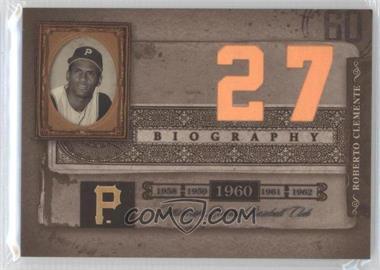 2005 Donruss Biography - Roberto Clemente Career Home Run #27 - Roberto Clemente