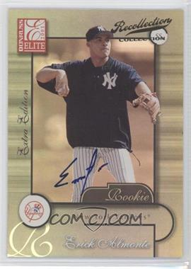 2005 Donruss Champions - Recollection Collection Autographs #204 - Erick Almonte /29