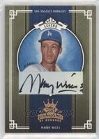Maury Wills #/100