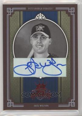 2005 Donruss Diamond Kings - [Base] - Red Framed Signatures [Autographed] #180 - Jack Wilson /50