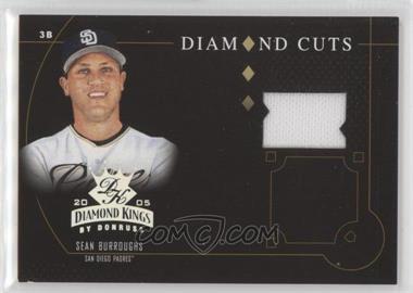 2005 Donruss Diamond Kings - Diamond Cuts - Jerseys [Memorabilia] #DC-42 - Sean Burroughs /200