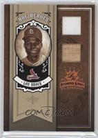 Lou Brock [Noted] #/50