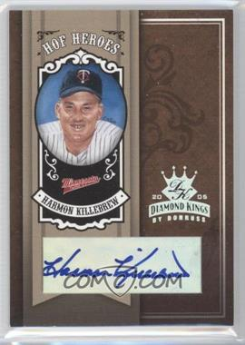 2005 Donruss Diamond Kings - HOF Heroes - Silver Signatures [Autographed] #HH-19 - Harmon Killebrew /5
