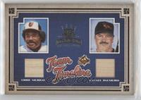 Eddie Murray, Rafael Palmeiro [EX to NM] #/100