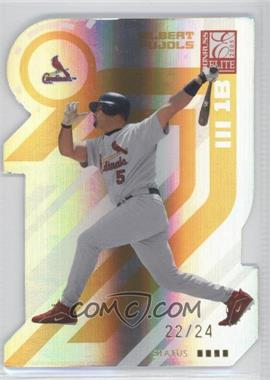 2005 Donruss Elite - [Base] - Gold Status #130 - Albert Pujols /24