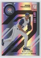 Mark Teixeira #/750