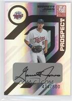 Autographed Prospects - Garrett Jones /500