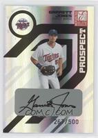 Autographed Prospects - Garrett Jones #/500