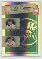 Roger Clemens, Mike Mussina, Alfonso Soriano, Bernie Williams /750