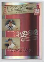 Tom Glavine, Greg Maddux, Ryan Klesko, David Justice /500