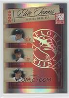 Miguel Cabrera, Josh Beckett, Mike Lowell /500
