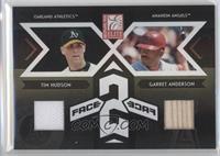Garret Anderson, Tim Hudson /100