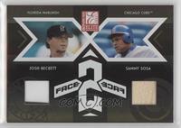 Sammy Sosa, Josh Beckett /250