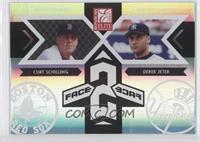 Curt Schilling, Derek Jeter #/1,500