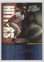 Lou Brock #/200