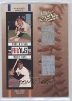 Warren Spahn, Willie Mays /50