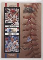 George Brett, Mike Schmidt [EX to NM] #/2,000