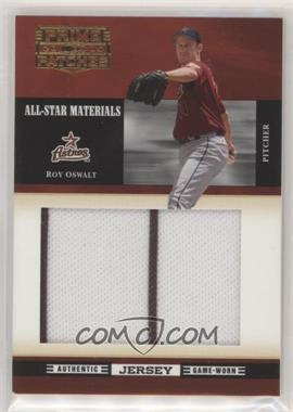 2005 Donruss Prime Patches - All-Star Materials - Jumbo Swatch #ASM-11 - Roy Oswalt /238