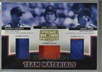 Dwight Gooden, Gary Carter, David Cone [Noted] #/15