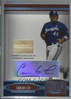 Carlos Lee [Noted] #/12