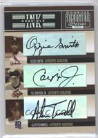 Ozzie Smith, Alan Trammell, Cal Ripken Jr.